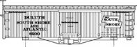 HO-40-2 Duluth, South Shore & Atlantic 34\' Box Car