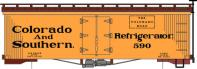 HOn3-117 Colorado & Southern Railway Reefer