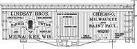 O-306-CD Lindsay Brothers Box Car